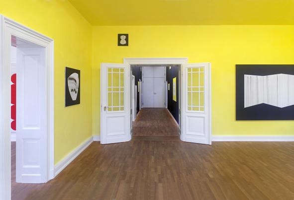 usarch detlef beer bild farbe raum ausstellung kuratiert von usarch in der kunstgaleriebonn. Black Bedroom Furniture Sets. Home Design Ideas