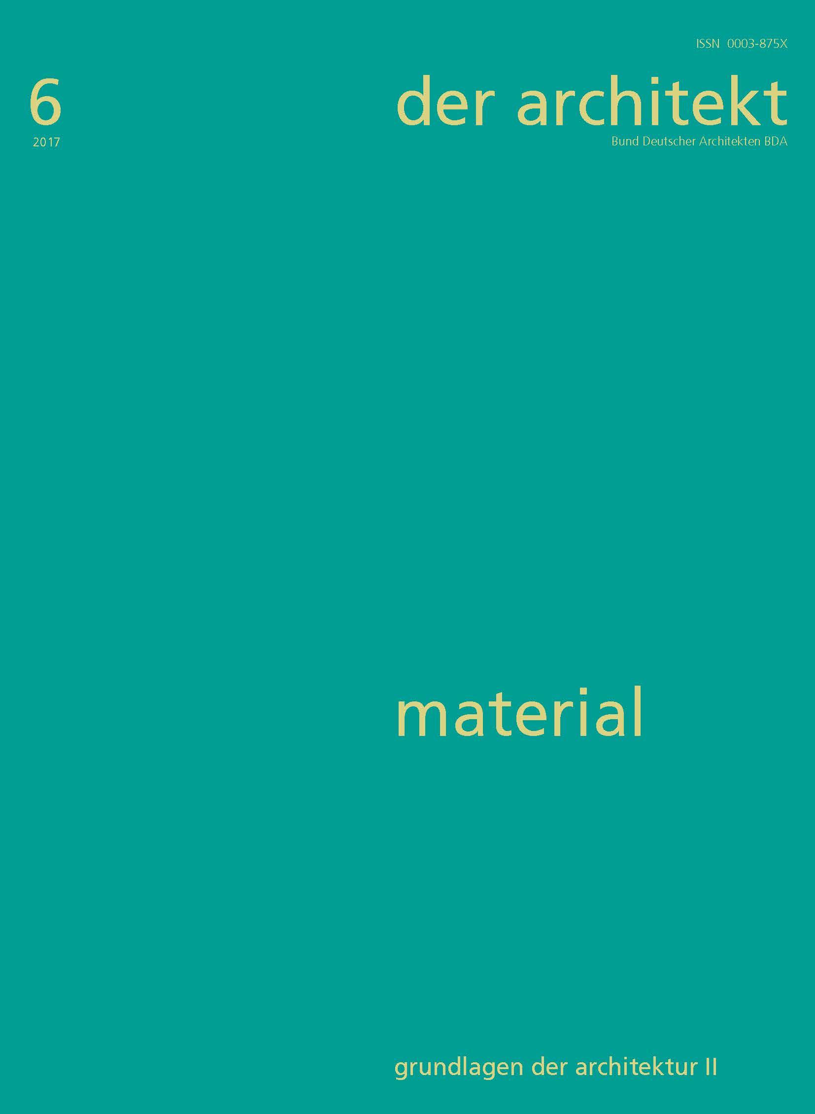 Usarch janus material und architektur for Raumgestaltung grundlagen