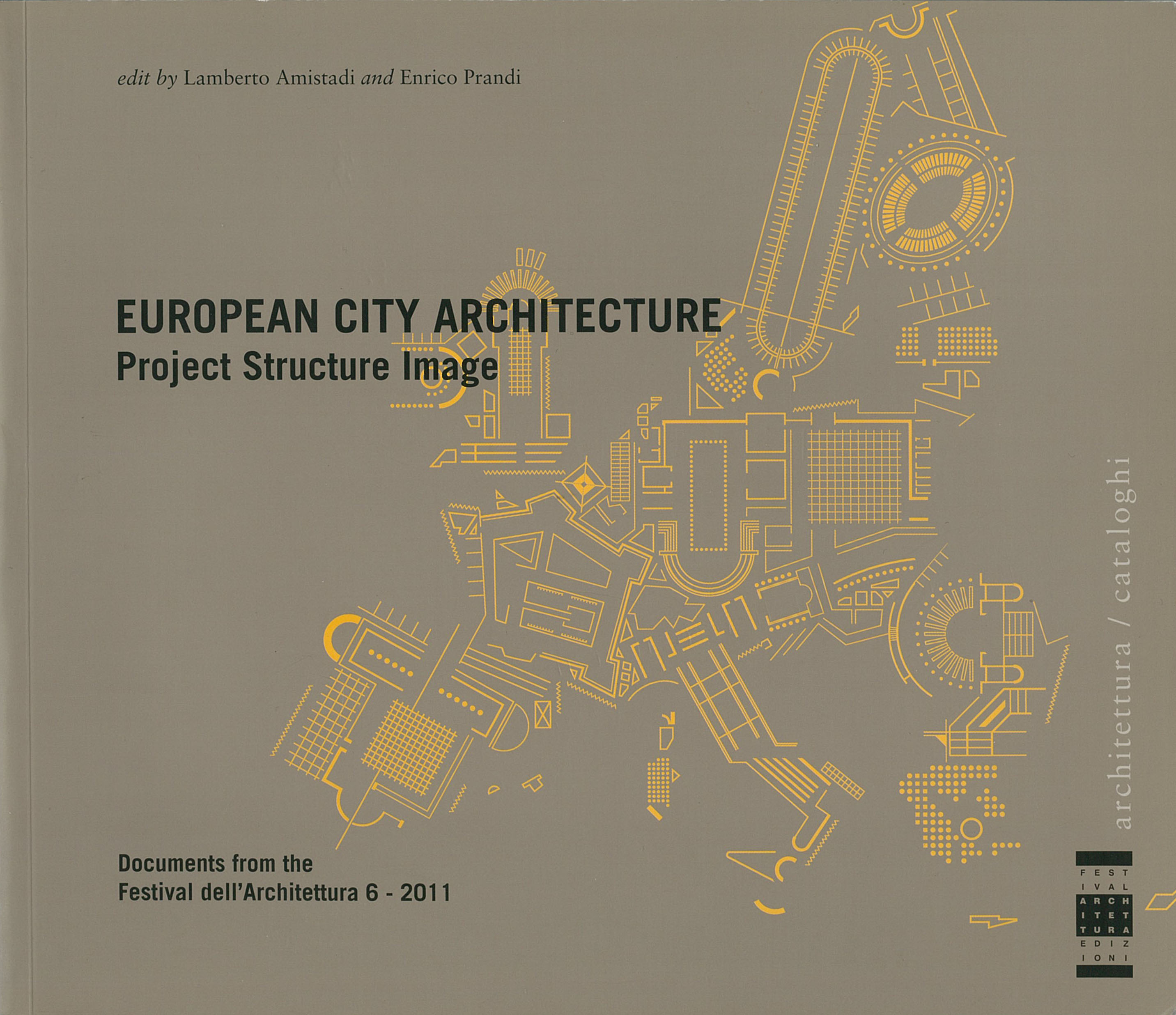 European City Architecture. Project Structure Image.
